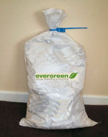 50 x Security sacks and shredding service package